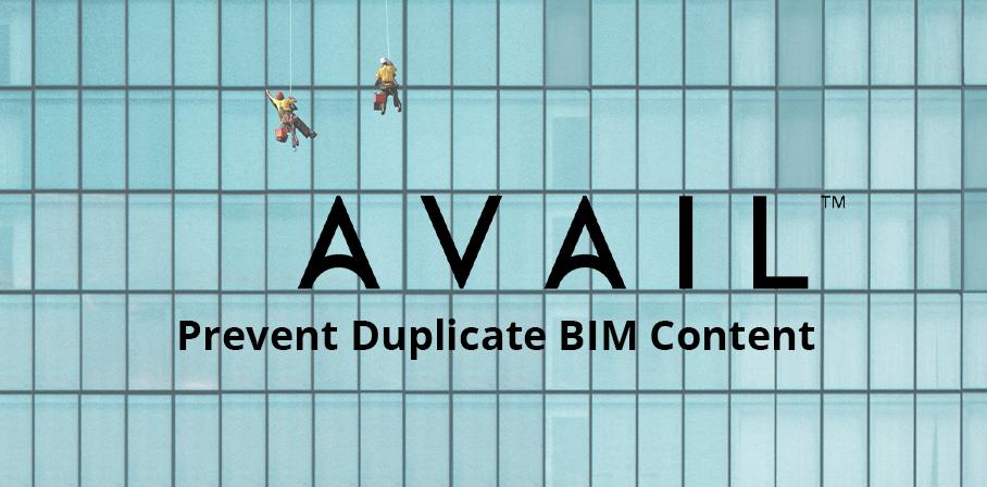 Prevent Duplicate BIM Content